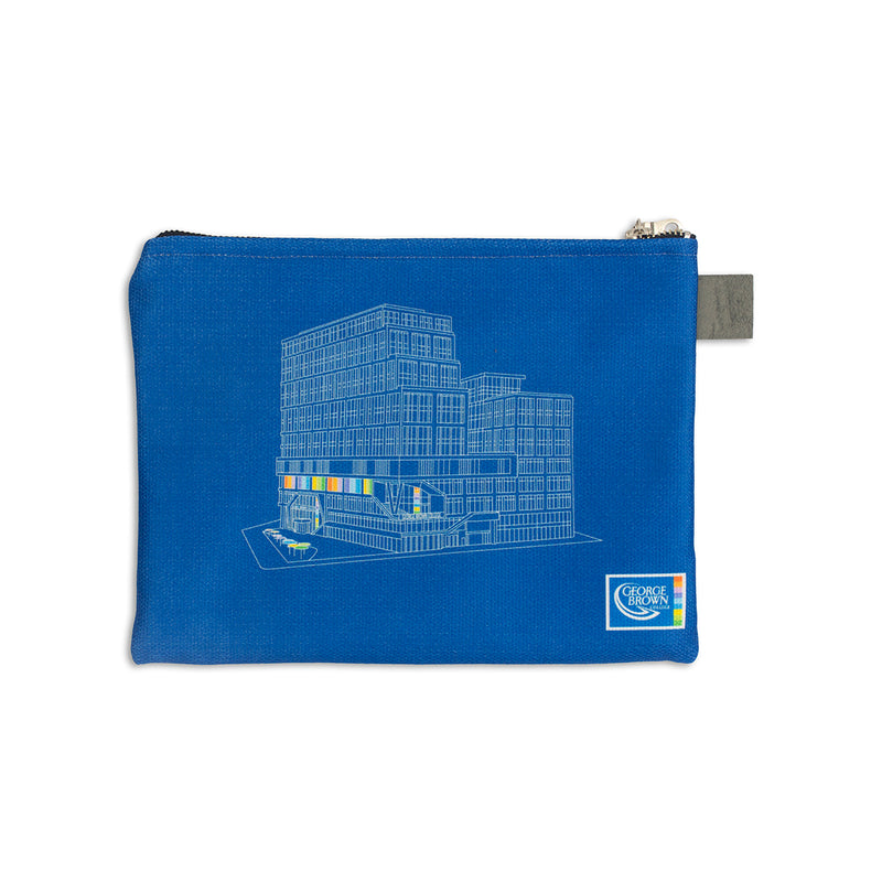 Daniels Building Zip Pouch - George Brown College