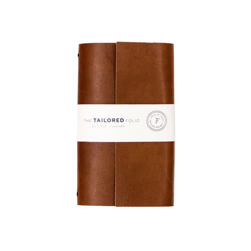 Tailored Leather Folio - George Brown College