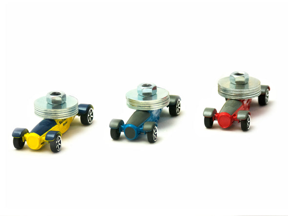 BluTrack® Physics Cars (3 pack)
