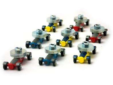 BluTrack® Physics Cars (8 pack)