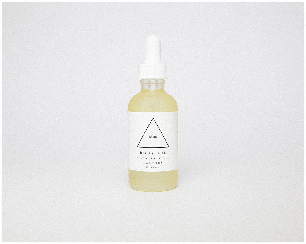 EARTHEN BODY OIL - 2 oz