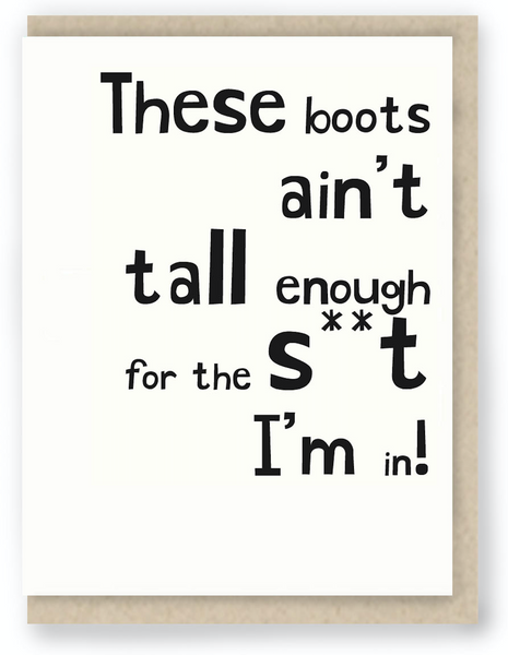 121 - THESE BOOTS
