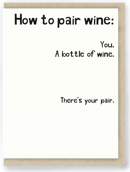 439 - HOW TO PAIR WINE