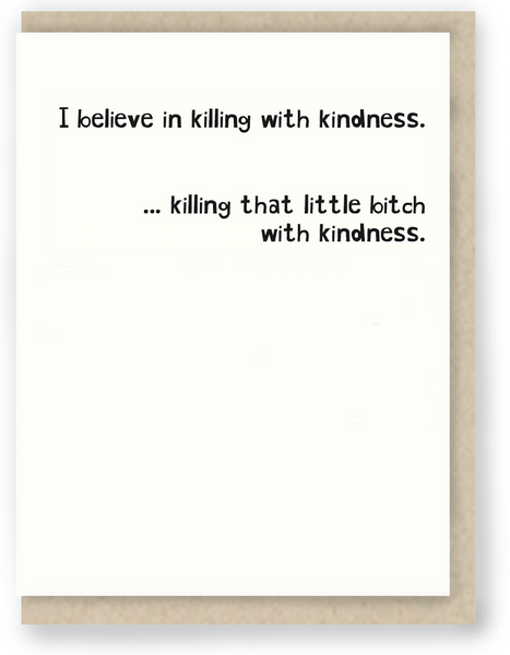 440 - KILLING WITH KINDNESS