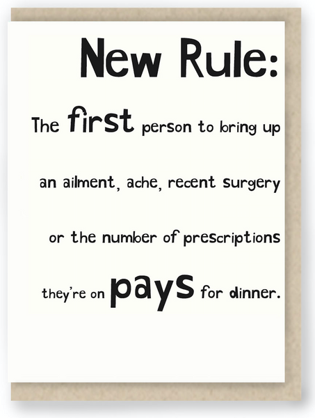 448 - NEW RULE ABOUT DINNER
