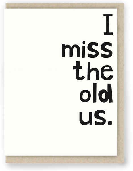 543 - MISS THE OLD US