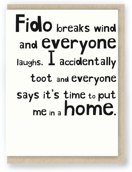 902 - FIDO BREAKS WIND