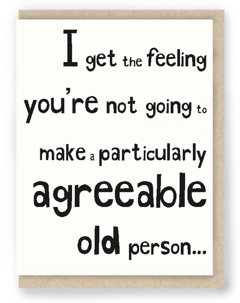 1055 - Agreeable Old Person