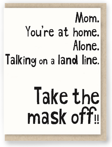 PAN 26:  Take the mask off