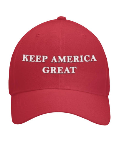 Keep America Great Trump Hat Curved Bill Velcro Strap