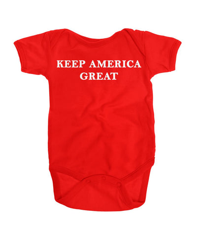 Keep America Great Onesie Bodysuit Onesies