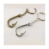 Vintage Fish Hook Keychain