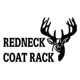 14.3cm*8.7cm Redneck Coat Rack Deer Hunting Car Styling Car Sticker Vinyl S4-0785