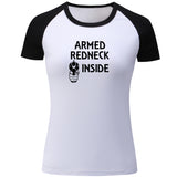 Women's Armed Redneck Inside T Shirts