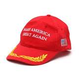 1PC Fashion Unisex Hats Make America Great Again Hat Donald Trump Republican Adjustable Cap Baseball Hat For MEN Accessories