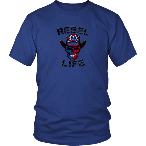 Rebel Life Men's and Women's Logo T-Shirt