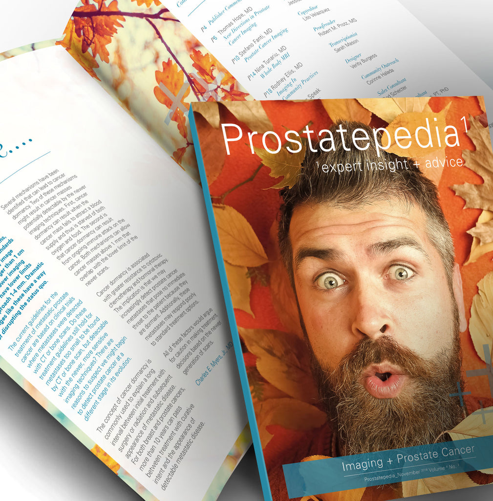 Prostatepedia - Volume 4, Number 3 - November 2018