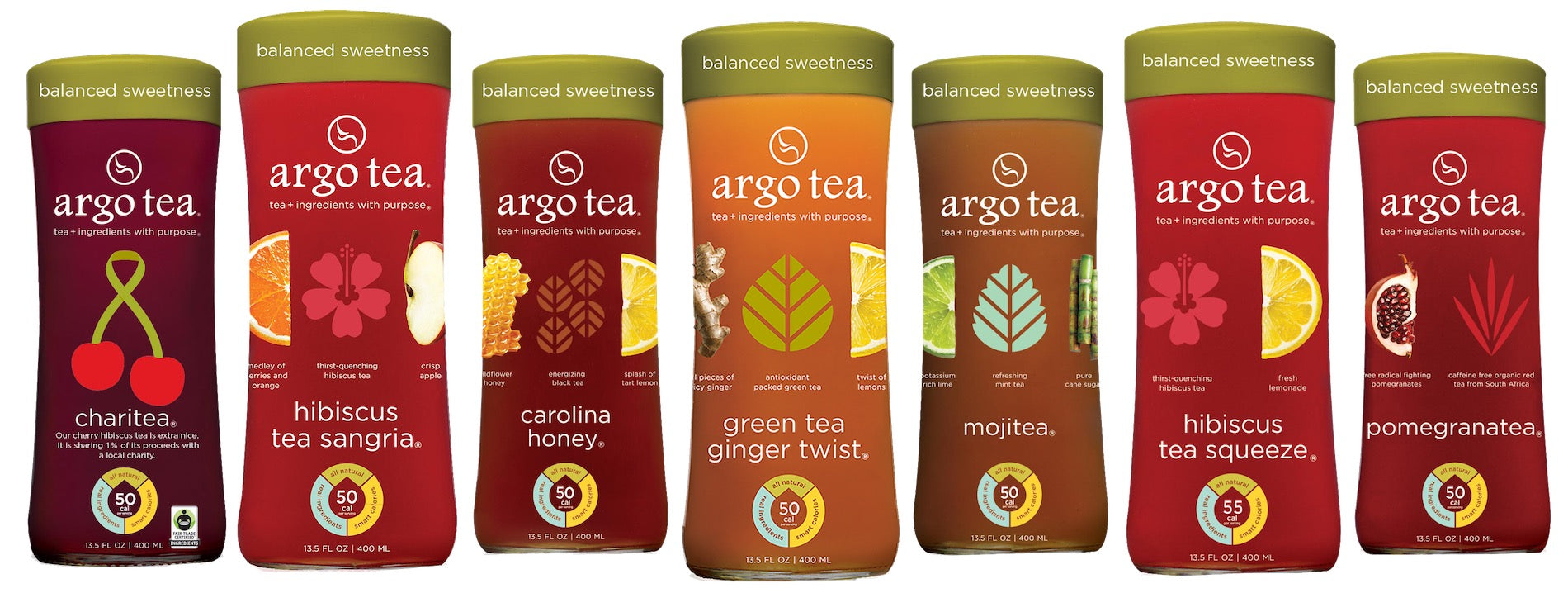Ago Tea Signature Bottled Teas
