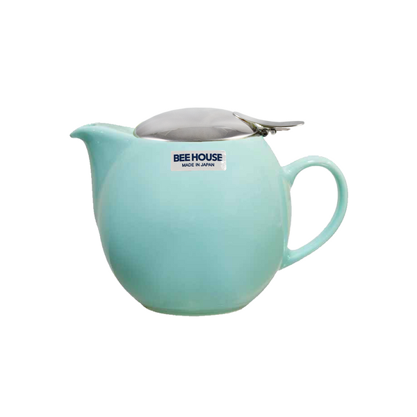 Bee House Teapot Aqua