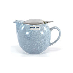 Bee House Crystal Blue Teapot