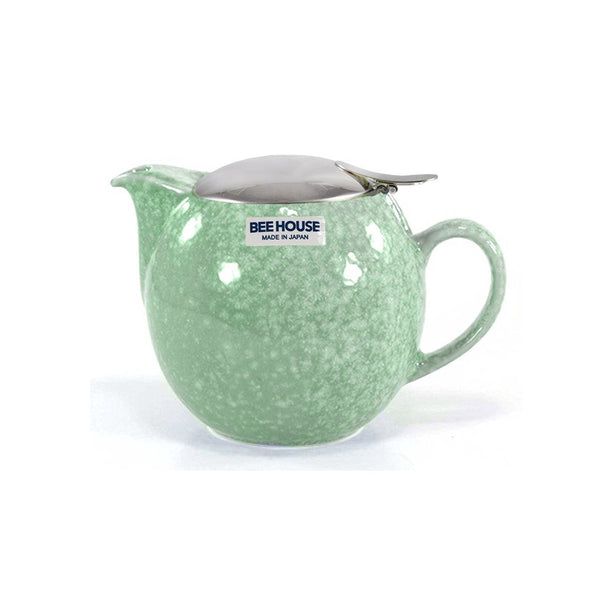 Bee House Crystal Green Teapot