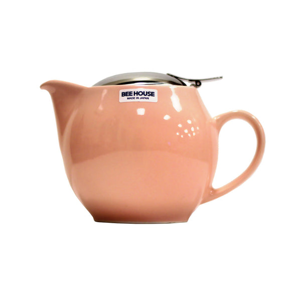 Bee House Teapot Pink