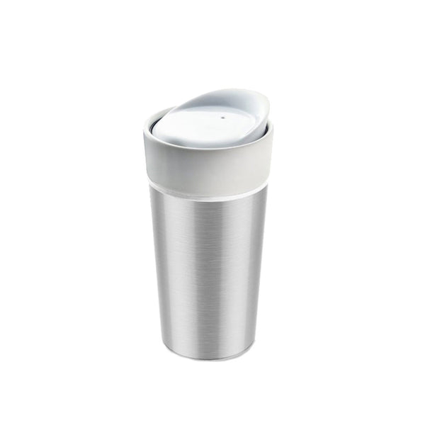 Silver Thermo Steel Tumbler