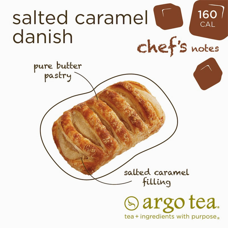 Salted Caramel Mini Danish