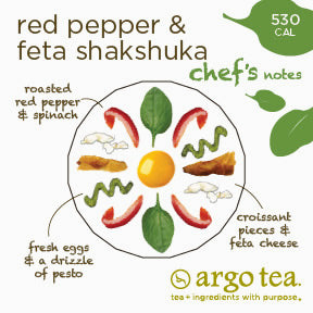 Red Pepper & Feta Shakshuka