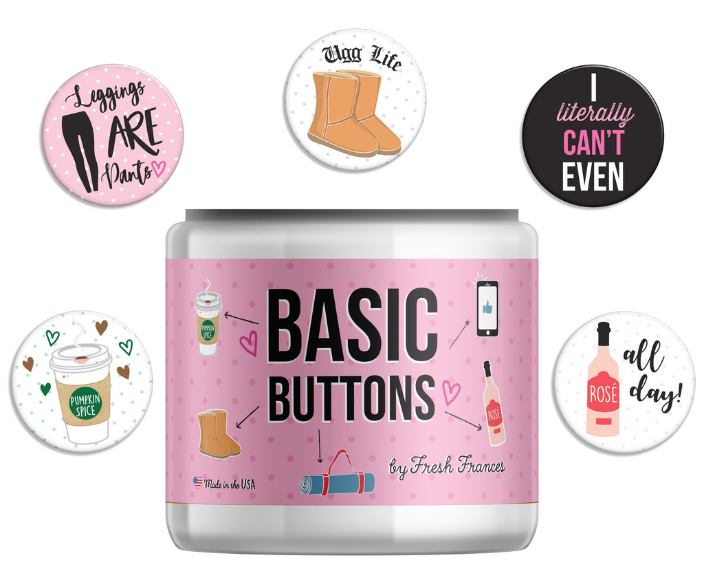 Basic Button Jar