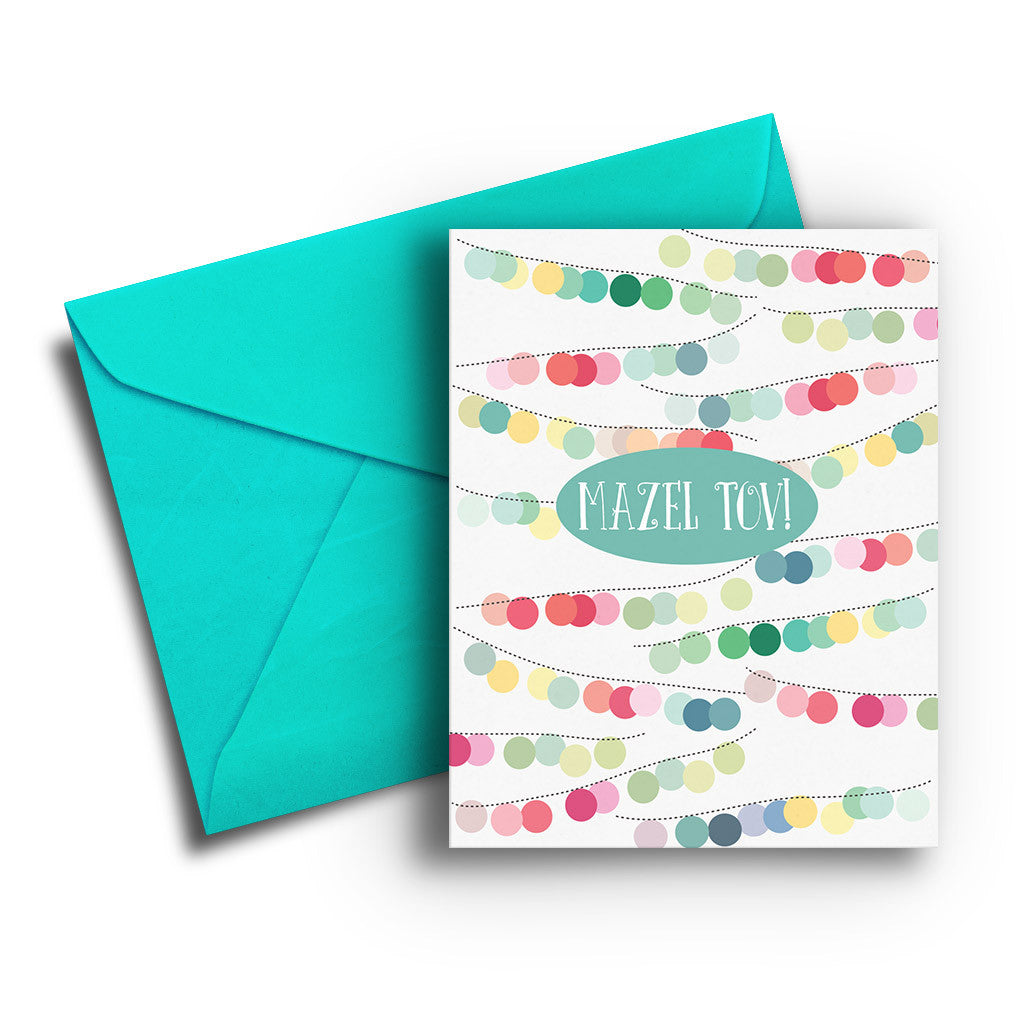 Mazel Tov Lights Card