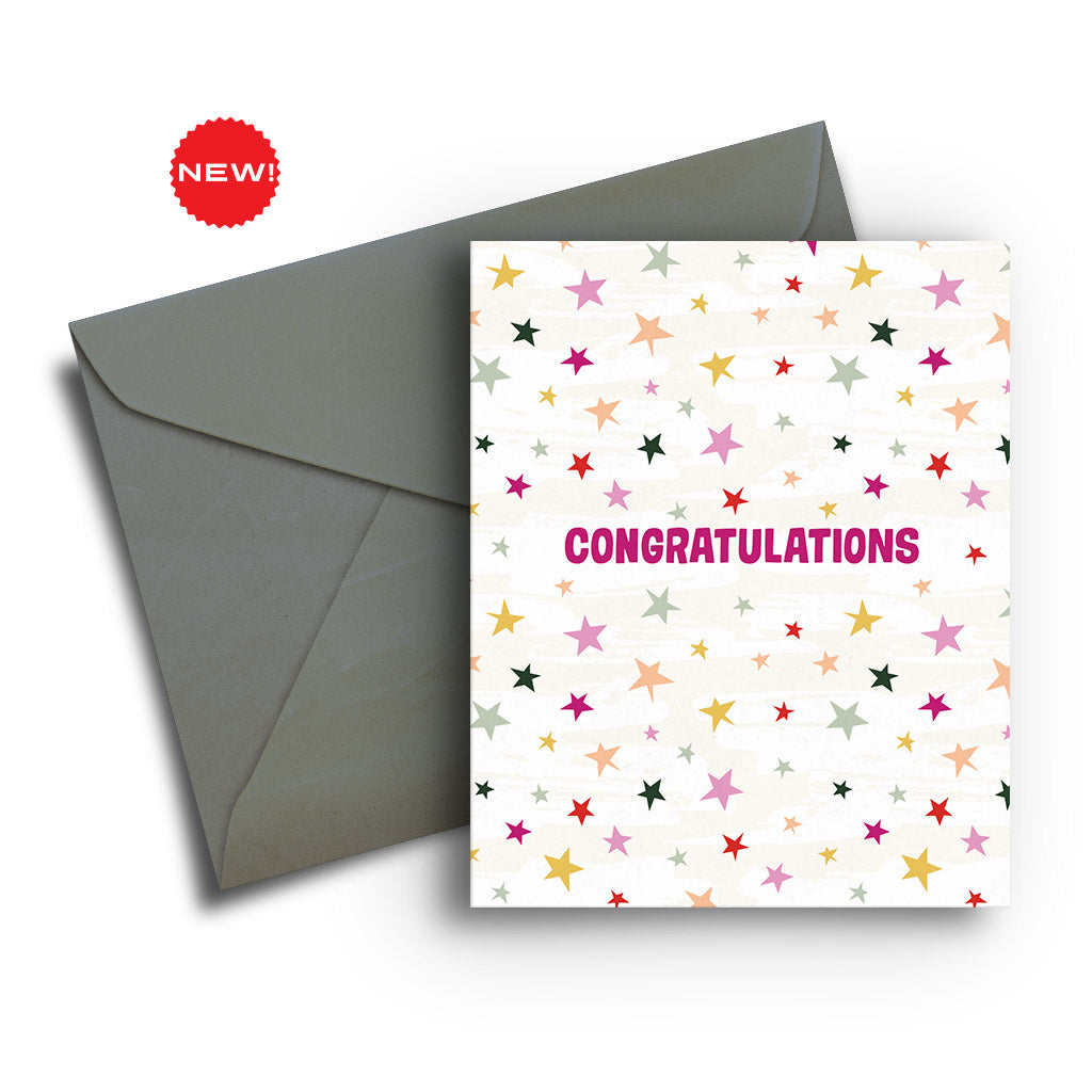Starry Congratulations Card
