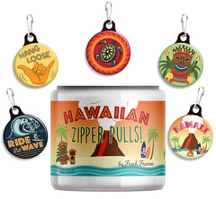 Hawaiian Zipper Pulls Jar