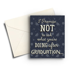 I Promise Graduation Card