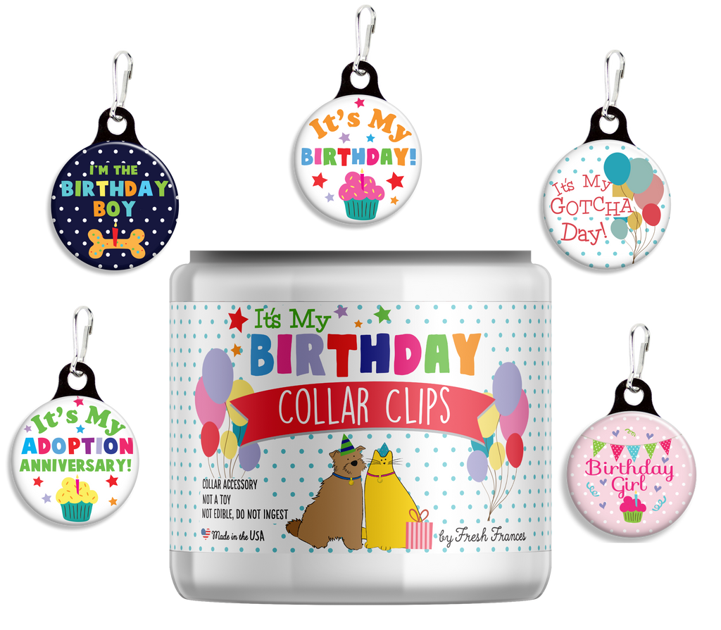 Birthday Collar Charms Jar