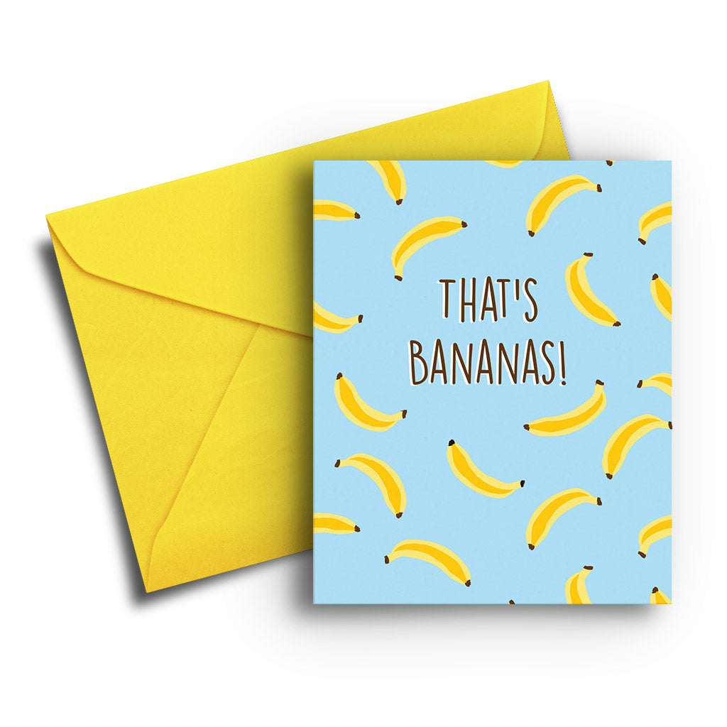 Bananas! Card