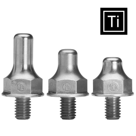 Single Spike: Short, Medium, Long, or Mini Standard Titanium