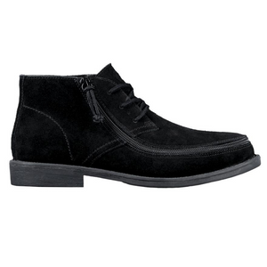 billy_footwear_black_chukka_low_top_chambray_linen_shoes_for_men_adults_with_special_needs_side