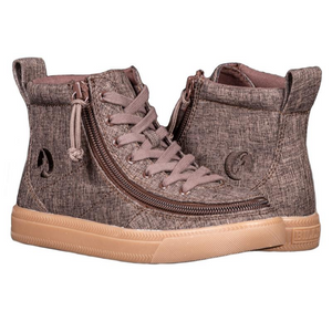 Billy Footwear (Kids) - High Top Linen Shoes
