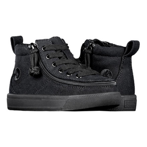 Billy Footwear (Toddlers) WDR Fit - High Top Black to the Floor Jersey Shoes