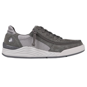 billy_footwear_charcoal_grey_suede_trainers_for_men_adults_with_special_needs_side