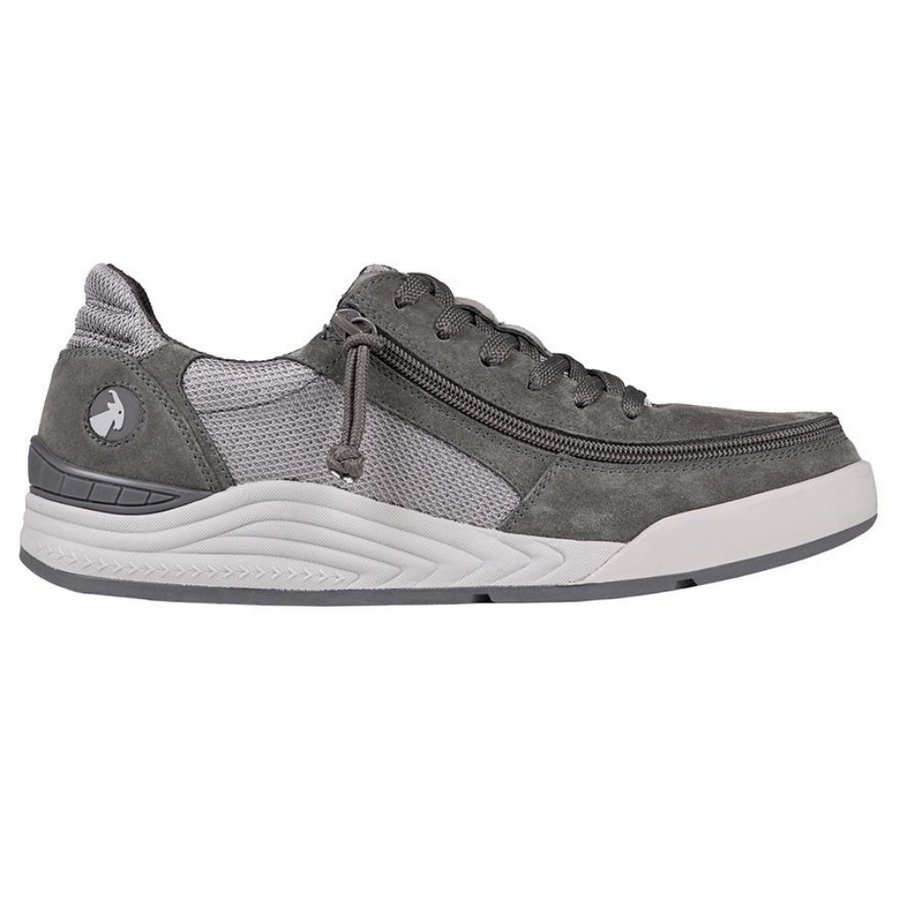 billy_footwear_charcoal_grey_suede_trainers_for_men_adults_with_special_needs
