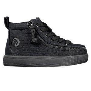Billy Footwear (Toddlers) - High Top Black to the Floor Canvas Shoes