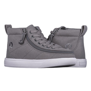 Billy Footwear (Kids) WDR Fit - High Top Dark Grey Jersey