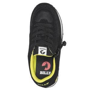 Billy_Footwear_Kids_black_neon_green_colour_faux_suede_Trainers_special_needs_shoes_top_1000x1000