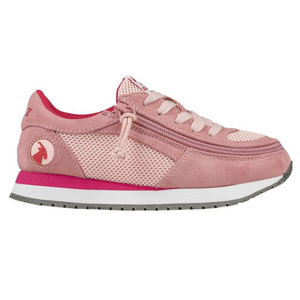 Billy_Footwear_Kids_pink_colour_faux_suede_Trainers_special_needs_shoes_1000x1000_side