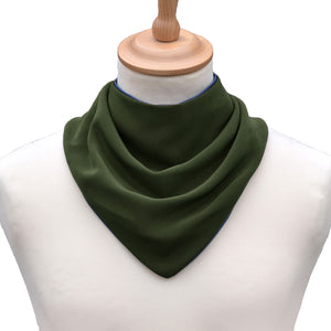 CareDesign_neckerchief_for_teenagers_and_adults_with_special_needs_clothing_protector_dribble_bib_khaki_front