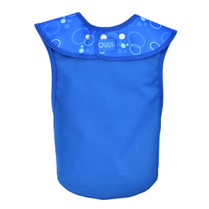 CareDesign_large_tabard_for_toddlers_children_adults_special_needs_comfortable_dribble_bib_blue_back