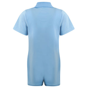 KayCey_Adaptive_clothing_for_older_children_with_special_needs_Polo_with_Tube_Access_Blue_Back