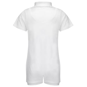 KayCey_Adaptive_clothing_for_older_children_with_special_needs_Polo_with_Tube_Access_White_Back